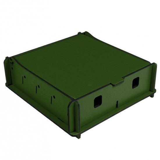 e-Raptor(イーラプター) 木製 ユニバーサルボックス Sサイズ/グリーン