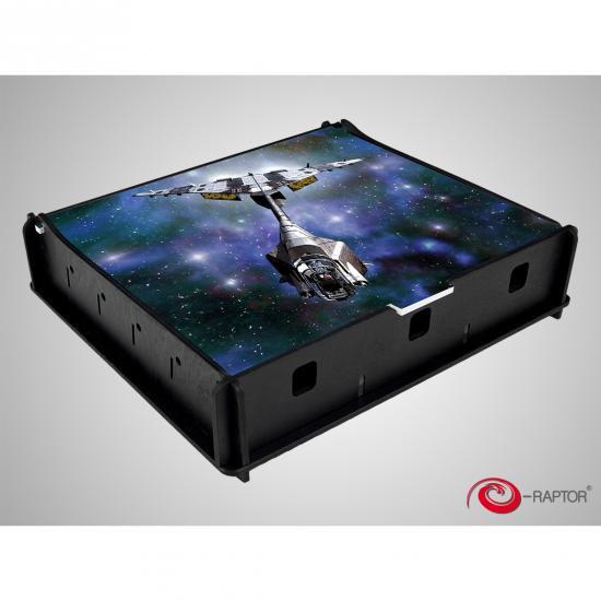 e-Raptor(イーラプター) アートワーク ユニバーサルボックス Mサイズ/スペースファイター
