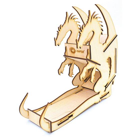 e-Raptor(イーラプター) 木製ダイスタワー/ドラゴン