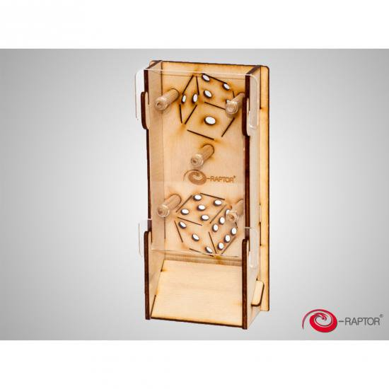 e-Raptor(イーラプター) 木製ダイスタワー/スリム
