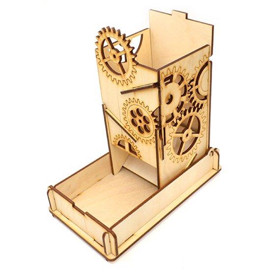 e-Raptor(イーラプター) 木製ダイスタワー/スチームパンクボックス
