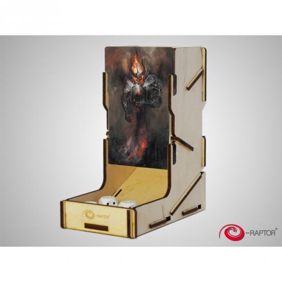 e-Raptor(イーラプター) 木製ダイスタワー/swap! ドゥームブリンガー