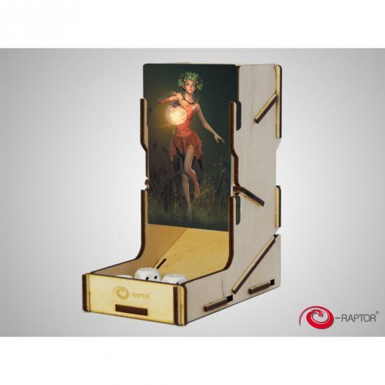 e-Raptor(イーラプター) 木製ダイスタワー/swap! フォレストフェアリー