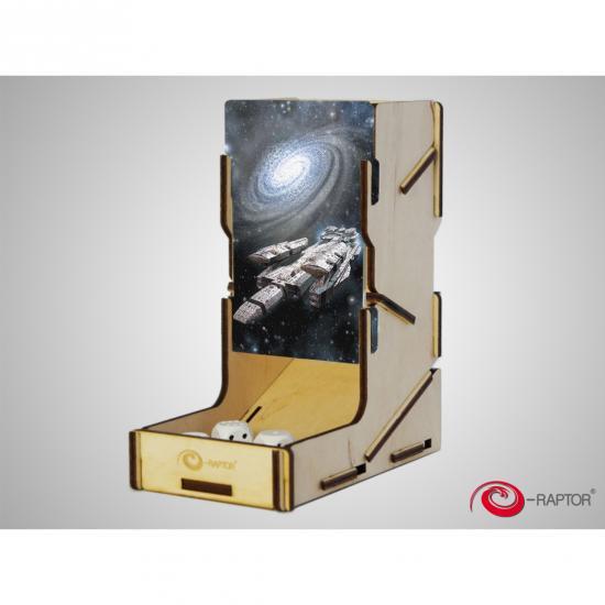 e-Raptor(イーラプター) 木製ダイスタワー/swap! スペースシップ