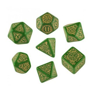 パスファインダー(Pathfinder)【グリーン&クリームダイス 7個セット】Jade Regent  Q-WORKSHOP
