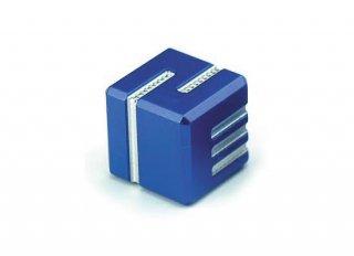 サイコロ AKOダイスI 金属製 ブルー 1個