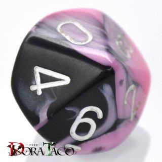 単品:チェセックス ジェミニ ブラック・ピンク&ホワイト 10面×1個