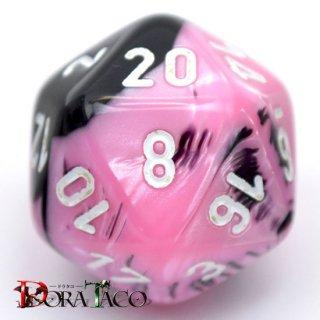 20面単品:チェセックス ジェミニ ブラック・ピンク&ホワイト 20面×1個