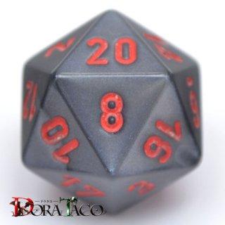 20面単品:チェセックス ベルベット ブラック&レッド 20面×1個