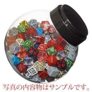 ご予約品◆ジャー・オブ・ダイス(Jar of dice)【6面・10面・20面ランダム150個】JMIX03 Q-WORKSHOP