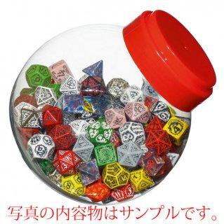 ご予約品◆ジャー・オブ・ダイス(Jar of dice)【4・6・8・10・テンズ・12・20面ランダム150個】JMIX04 Q-WORKSHOP