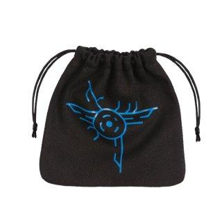 ダイスバッグ ギャラクティック ブラック&ブルー Galactic Black & blue Dice Bag Q-WORKSHOP