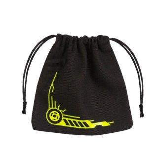 ダイスバッグ ギャラクティック ブラック&イエロー Galactic Black & yellow  Dice Bag Q-WORKSHOP