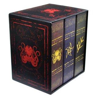 限定版◆エルダーダイス クトゥルフ神話 7種9個入り×3セット&グリモアボックス【ドゥームエディション】 Doom Edition ELDER DICE