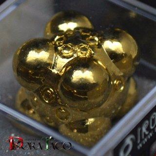 アイアンダイ 6面 Nullifier 金コーティング Luxury Gold