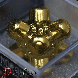 アイアンダイ 6面 Barrier 金コーティング Luxury Gold