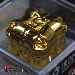 アイアンダイ 6面 Regeneration 金コーティング Luxury Gold