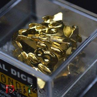 アイアンダイ 10面 Death 金コーティング Luxury Gold