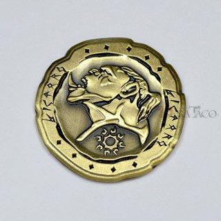 オーク メタルコイン【1枚 ゴールド】ファンタジーコイン レガシーゲーム用コイン