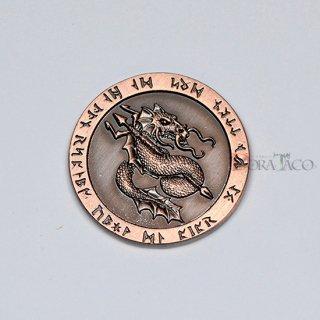 ファイア メタルコイン【1枚 コッパー】ファンタジーコイン レガシーゲーム用コイン