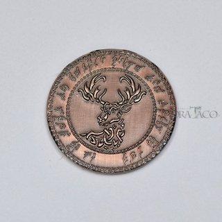 エルフ メタルコイン【1枚 コッパー】ファンタジーコイン レガシーゲーム用コイン