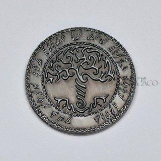 エルフ メタルコイン【1枚 シルバー】ファンタジーコイン レガシーゲーム用コイン