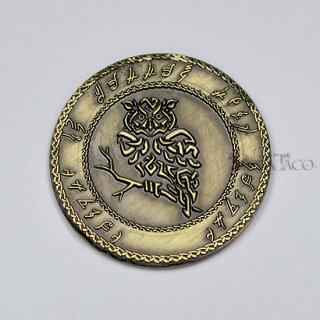 エルフ メタルコイン【1枚 ゴールド】ファンタジーコイン レガシーゲーム用コイン