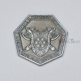 ドワーフ メタルコイン【1枚 シルバー】ファンタジーコイン レガシーゲーム用コイン
