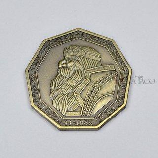 ドワーフ メタルコイン【1枚 ゴールド】ファンタジーコイン レガシーゲーム用コイン