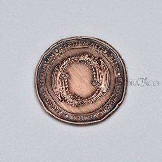 ドラコ メタルコイン【1枚 コッパー】ファンタジーコイン レガシーゲーム用コイン