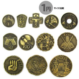 ゴールド12枚セット◆メタルコイン キャンペーンコイン クラシックファンタジー