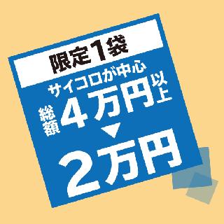 【限定1袋】総額40,000円以上入った福袋