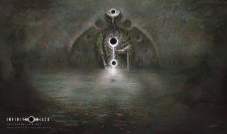 エルダーダイス第2弾 プレイマット【ホワイトナイト】クトゥルフ神話 ELDER DICE