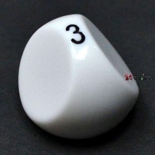 3面ダイス単品 ホワイト
