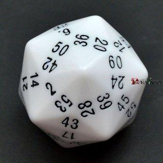60面ダイス単品 ホワイト