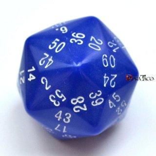 60面ダイス単品 ブルー