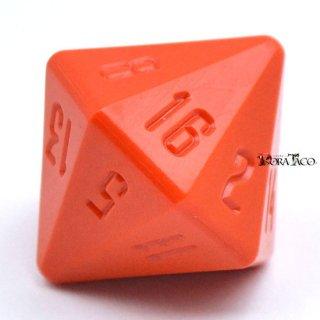 16面ダイス オレンジカラー
