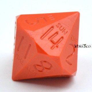 14面ダイス オレンジカラー