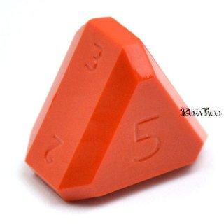 5面ダイス オレンジカラー