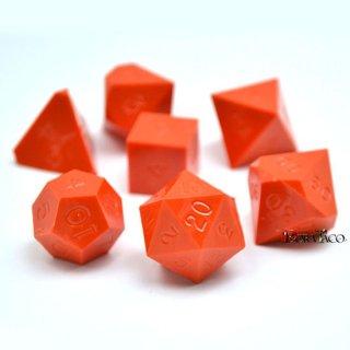多面体ダイス 7個セット オレンジカラー