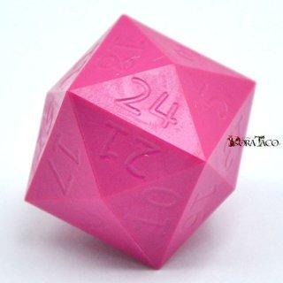 24面ダイス ピンクカラー