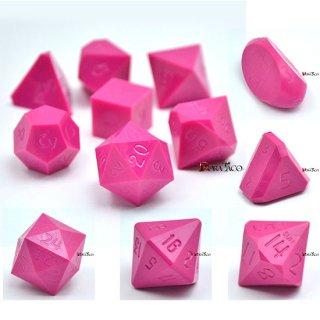 多面体ダイス 12個セット ピンクカラー