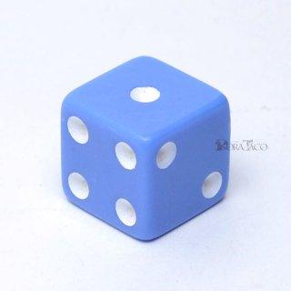 パステルサイコロ 16mm単品 ブルー