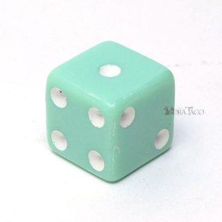 パステルサイコロ 16mm単品 グリーン