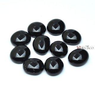 不透明ガラストークン10〜30個セット ブラック(約16mm)