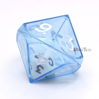 ダブルダイス 10面単品 ブルー