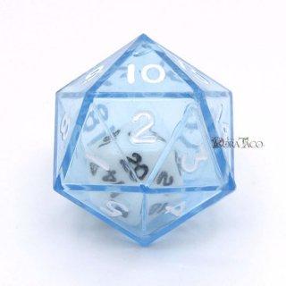 ダブルダイス 20面単品 ブルー