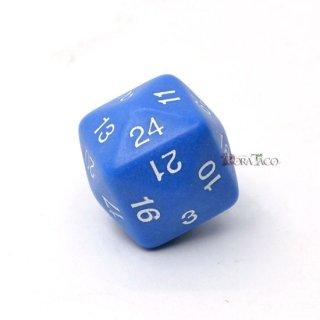 24面サイコロ単品 ブルー