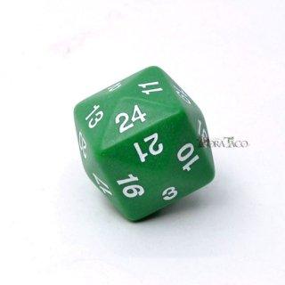 24面サイコロ単品 グリーン