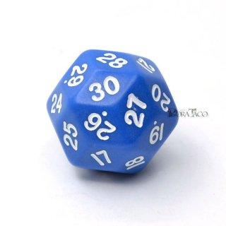 30面サイコロ単品 ブルー